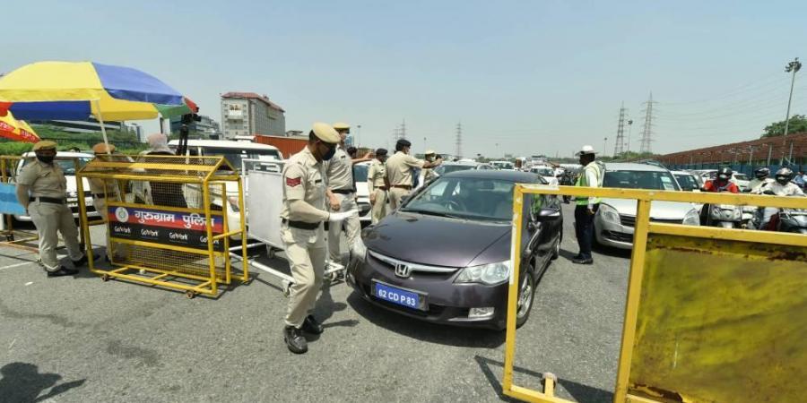 Lockdown In Gurugram