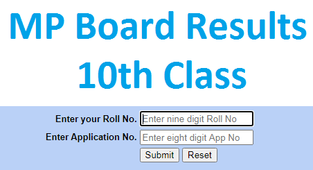 MPBSE 12th Result 2020 today
