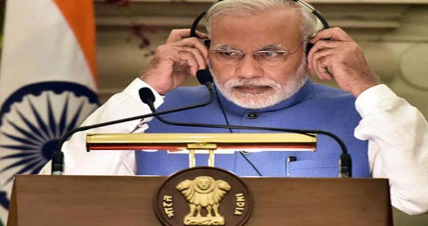 today mann ki baat live Narendra Modi