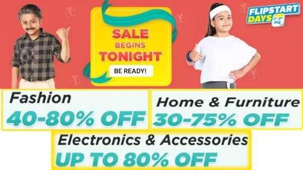 Flipkart Flipstart Days Sale Will Start on 1st September, Best Deals, Discount and Offer