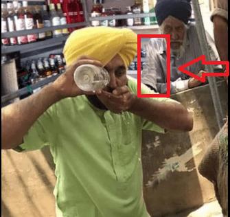 AAP सांसद Bhgwant Maan Viral News