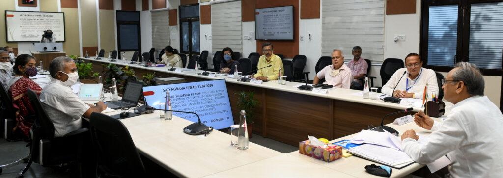 महात्मा गांधी जयन्ती: लोकतंत्र और संविधान की रक्षा में गांधीजी के सूत्र महत्वपूर्ण CM
