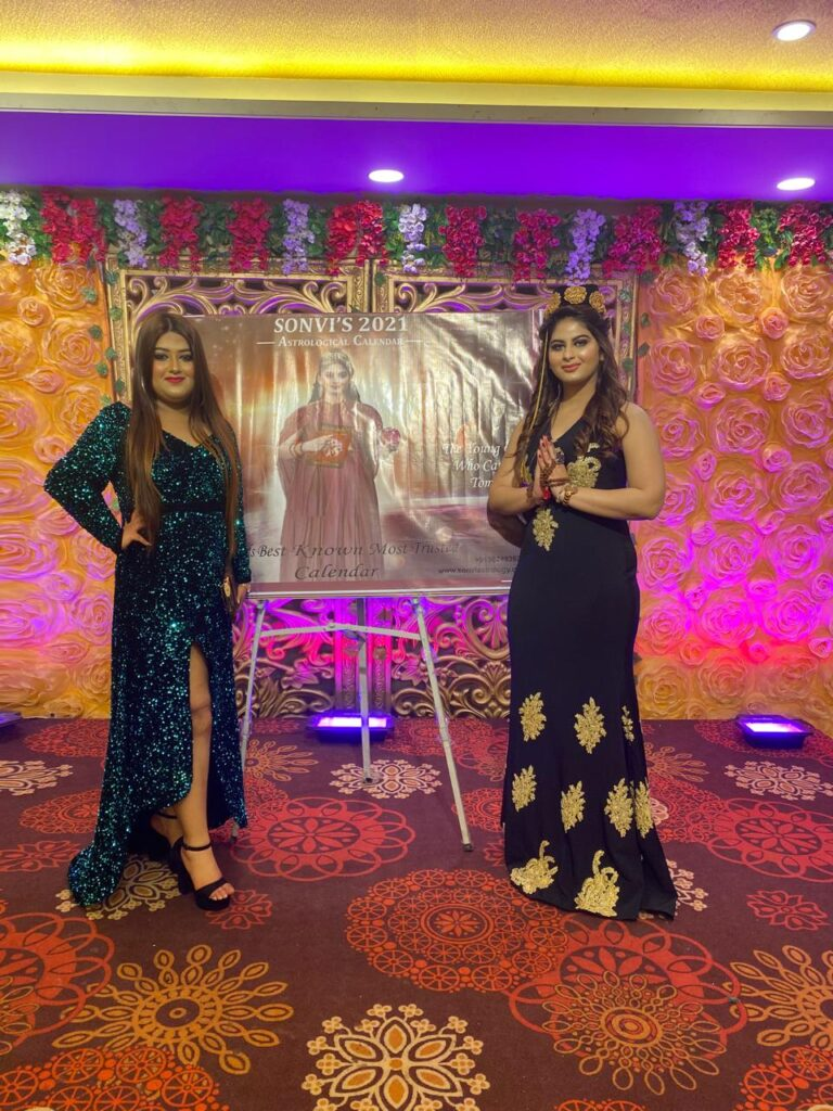 Models launch ramp walk in fashion sequence with calendar launching Jaipur 2