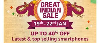 amazon great republic day sale starts on 19th jan 2021