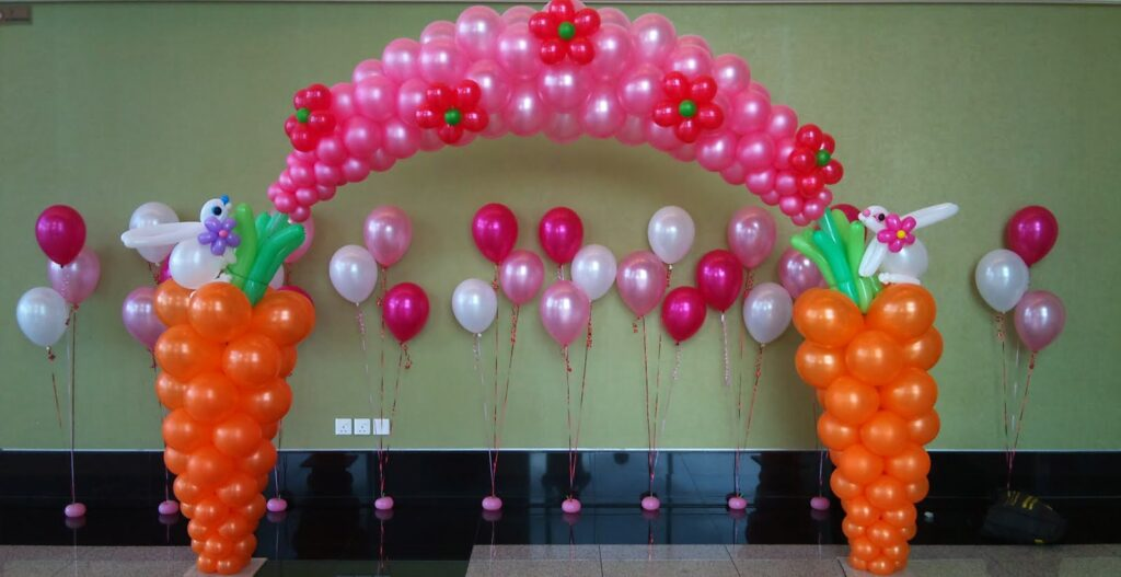 Hire Balloon Decorators In Jaipur For Theme Birthday Party Sodala