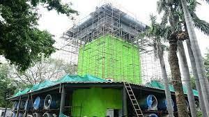 Delhi News : दिल्ली: कनॉट प्लेस में जून तक स्मॉग टावर लगने की उम्मीद